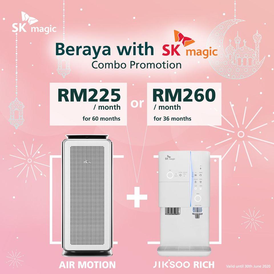 SK Magic Jiksoo Raya Combo Rich Promotion Kedah Penang